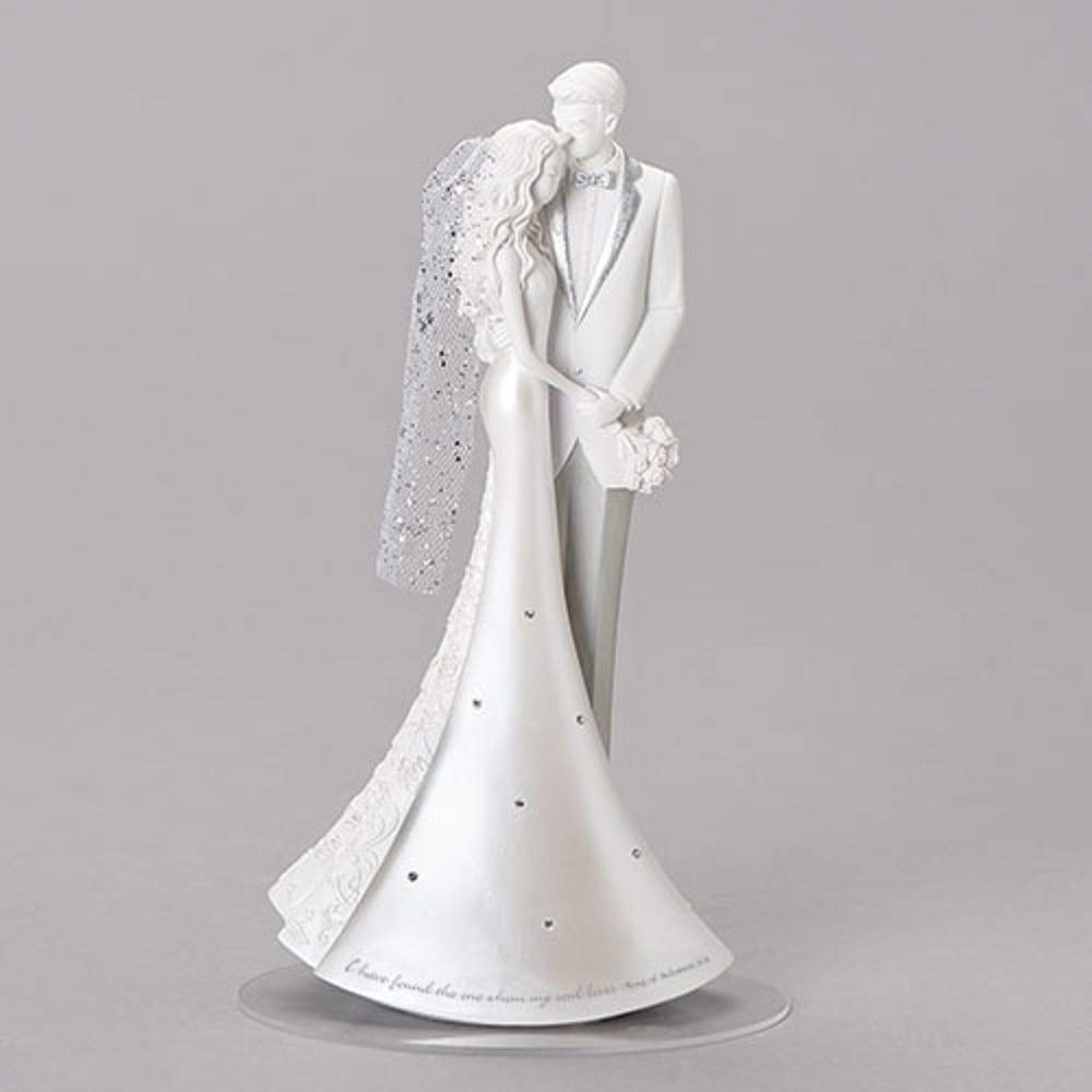 Diva At Home 8.75'' Endless Love Cake Topper