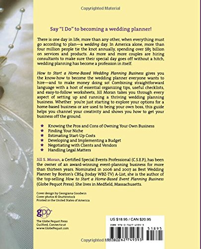 How to start a home based wedding planning business home based how to start a home based wedding planning business home based business series jill moran csep 9780762749393 amazon books junglespirit Image collections