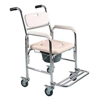ZCXCC Asiento De Inodoro Silla De Inodoro Asiento De Inodoro Embarazada Senior Plegable Hogar Baño Silla