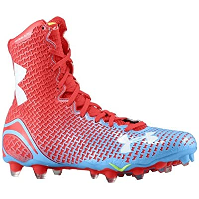 Under Armour UA Highlight MC Football Cleats Blue Red 1246123-475 Size 11.5 Men