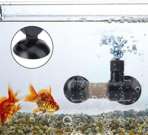 Aquarium Co2 Atomizer Carbon Dioxide Diffuser Reactor with Suction Cup for Plant Tank Fish Tank Equipment