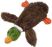 Brinquedo de pelúcia divertido 2 em 1 da Best Pet Supplies - Pato selvagem, pequeno (PT08-S)