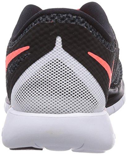 Nike  Free 5.0 - Zapatillas para mujer Schwarz (Black/Bright Crimson-White)
