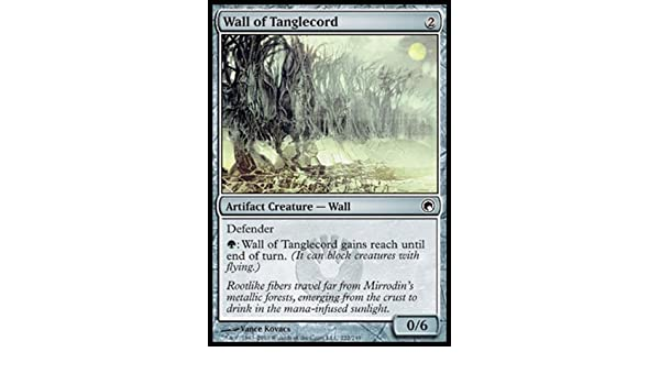Artifact Scars of Mirrodin Mtg Magic Common 4x x4 4 FOIL Wall of Tanglecord