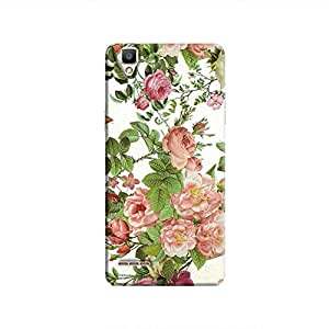 Cover It Up Flower Garden Hard Case for Oppo F1 - Multi Color