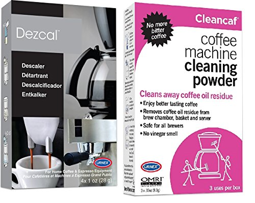 Cleancaf and Dezcal Combination Pack by Urnex