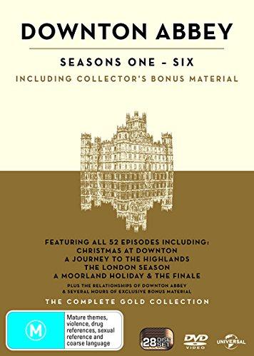 Downton Abbey : Season 1-6 | Gold Boxset