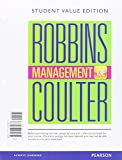 Management, Student Value Edition Plus MyManagementLab with Pearson EText -- Access Card Pakage, Robbins, Stephen P. and Coulter, Mary, 0133972941