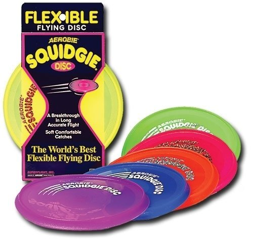 Aerobie Squidgie Flying Disc - 3 Pack - Assorted ()