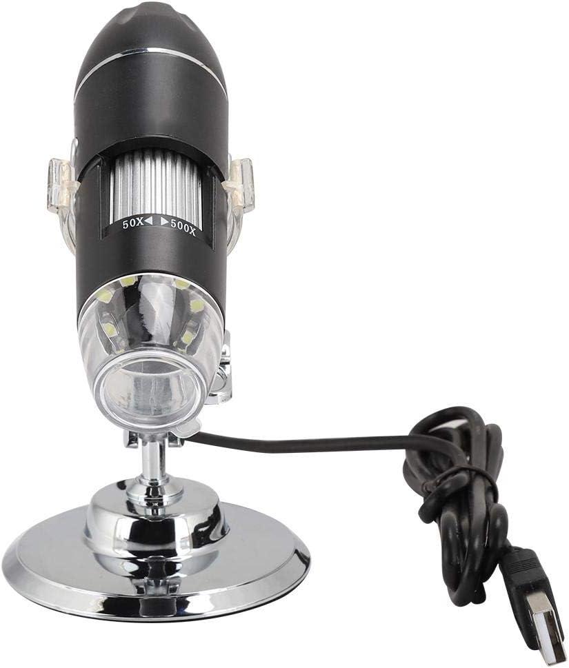 500X Wireless Magnification Endoscope 8 LED Mini 3-40mm Manual Focus Vbestlife USB Digital Handheld Microscope