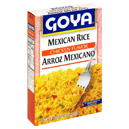 Goya Mexican Rice Mix, 8-Ounce Boxes (Pack of 24) by Goya