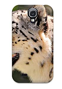 Hot Snow Leopard Feeling Galaxy S4 On Your Style Birthday Gift Cover Case 9506706K34690245