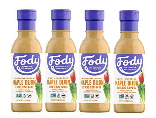 Fody Foods Vegan Maple Dijon Salad Dressing Pack   Low FODMAP Certified   Gut Friendly No Onion No Garlic   IBS Friendly Kitchen Staple   Gluten Free Lactose Free Non ()