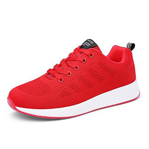 Zapatos Estudiante Respirables Zapatos Las Zapatos Mujeres Vuelo nuevos Transpirable Deportivos de de de Hasag red Tejidas TpR4wxd4