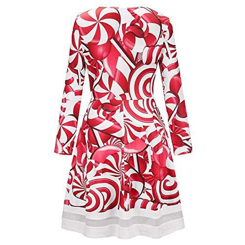 16f8b712edd Top Pour Dress Longshirt Oversize Blouses Enfiler Rot Hoodie Casual Dames  Imprimé B Dentelle Longues Robe Manches Dame Noël Hiver Mini Robes D À  Femmes ...