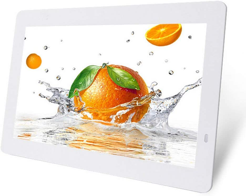 1280X800 High Resolution 16:10 Full IPS Display Smart Electronic Advertising Media Player Support Hoto//Music//Video Player,Black Mengen88 14.1 Inch HD Digital Photo Frame