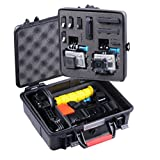 Smatree® SmaCase GA500 Floaty & Watertight Case with ABS materials- Carrying and Travel Case with Ideal Pre-cut Foam Interior for Gopro® HD Hero4, 3+, 3, 2, 1 Camera camcorder and Essential Accessories