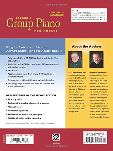group piano for adults