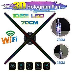 Proyector publicitario holográfico 3D, Pantalla holográfica 3D de ...