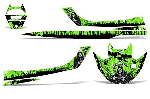 Kawasaki STX1100 Sport Tourer 1997-1999 Decal Graphic Kit Jet Ski Wrap STX 1100 REAPER GREEN by Wholesale Decals (Image #1)'