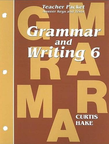 Saxon Grammar and Writing: Complete Homeschool Kit Grade 6