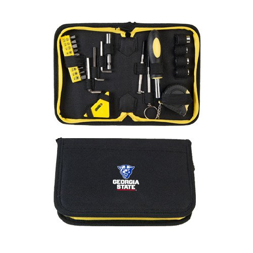 Georgia State Compact 23 Piece Tool Set 'Official Logo' by CollegeFanGear