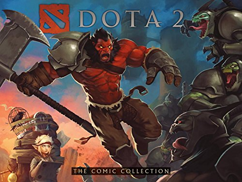 DOTA 2: The Comic Collection cover