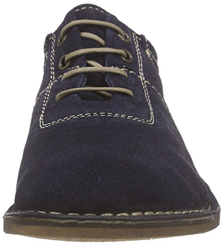 Mouche London Hommes Melo886fly Chaussures Oxford Bleu - Blau (navy 006)