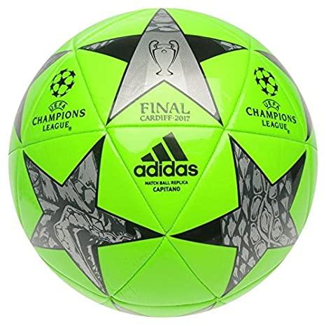 Adidas UEFA Champions League Final Fútbol 2017 Solar Verde: Amazon ...