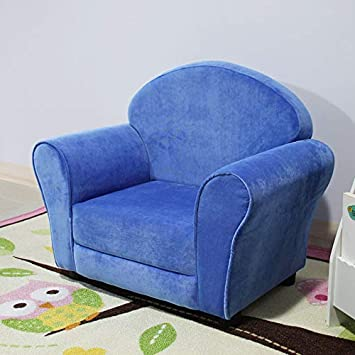 sillón infantil Sofá para niños Historieta linda sola tela ...