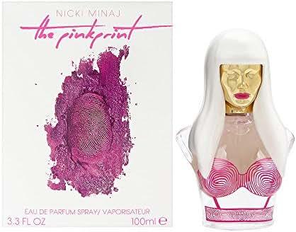 Nicki Minaj Pink Print Women Eau De Parfum Spray, 3.3 Ounce