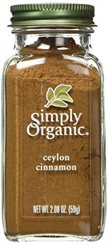 - Simply Organic Ground Ceylon Cinnamon