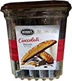 Nonni's Cioccolati & Chocolate Hazelnut Biscotti, Net wt 2 lb 1.25 oz (943g), 25 Count