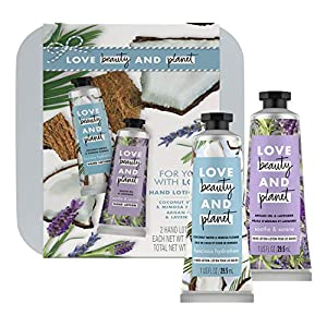 Love Beauty And Planet Hand Lotion Gift Set Coconut Water Mimosa + Lavender Argan Oil Vegan, Certified Cruelty Free, No… 14