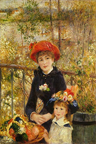 American Gift Services - Artist Pierre Auguste Renoir Poster Print of Painting On The Terrace - ()