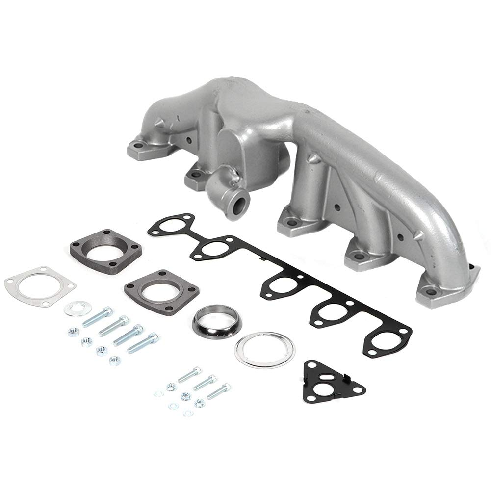Acouto Metal Exhaust Manifold Kit Replacement Parts Car Accessories Fit for Transporter 2008 2009, 070253017A by Acouto