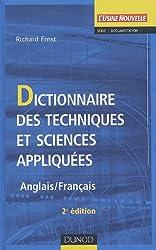 Dictionnaire des techniques et sciences appliquées : Anglais/Français