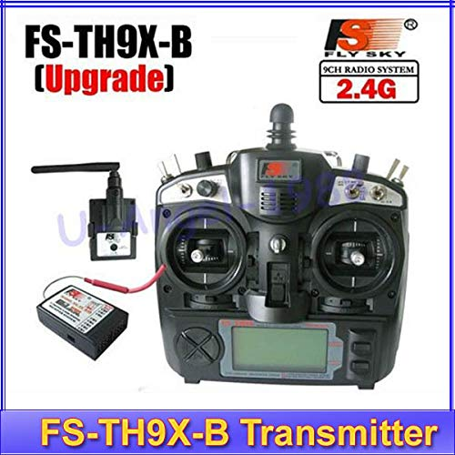 Laliva 2.4G 9ch 9 Channels System FS remtoe Control rc Transmitter & Receiver Combo Flysky FSTH9X TH9XB TX RX