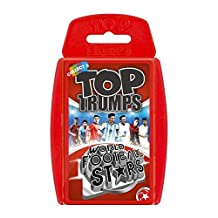 Top Trumps - World Football Stars (Red 2016 Version) by Top Trumps