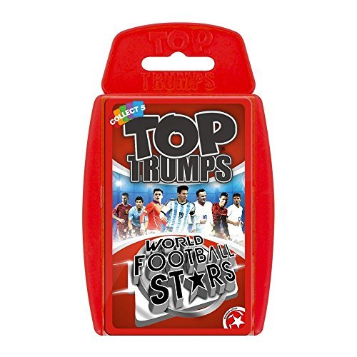 Top Trumps World Football Stars Juego de Cartas de fútbol ...
