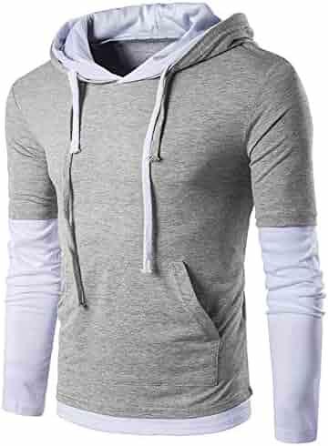 808c903bb84 Realdo Clearance Sale Mens Hoodie Sweatshirt