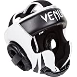 Venum Challenger 2.0 Headgear Hook & Loop Black/White, One Size