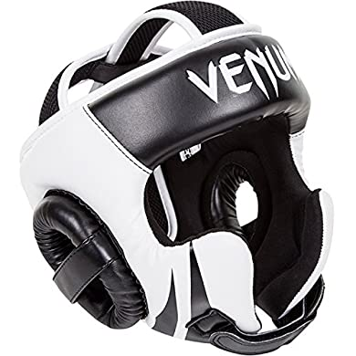 Venum-Challenger-20-Headgear-Hook-Loop-BlackWhite-One-Size