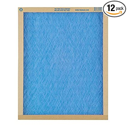Cheap Air Filters >> True Blue 12 Pack Furnace Air Filter 20 X 25 X 1