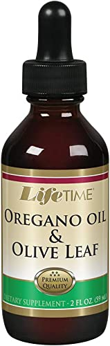 Lifetime Oregano Oil Olive Leaf Supplement