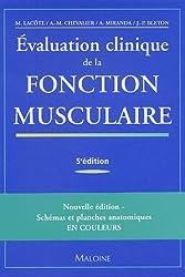Evaluation clinique de la fontion musculaire