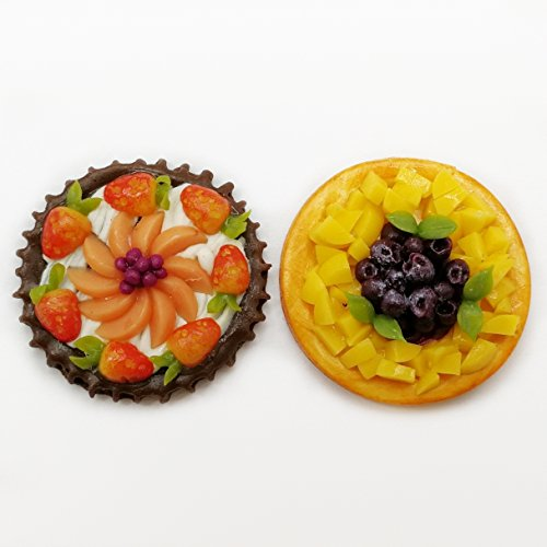 The Best Buy 2 of Dollhouse Miniature Fruits Pie Tart ()