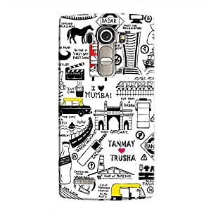 Cover it up Mumbai Meri Jaan Hard Case for LG G4 - Multi Color