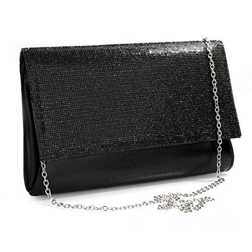 femme Evening pour Pochette Noir Bag SSMK xZavqOx