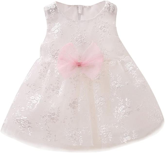 FAMILIZO Vestido de niñas, NiñO BebéS Flores Encaje Vestido De ...